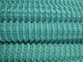 包塑菱形网